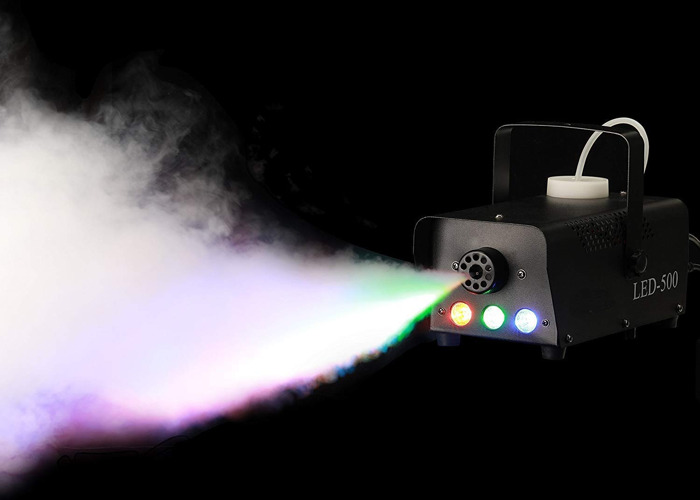 Double Kit of Smoke and Fog Machine with built-in LED lights - 2
