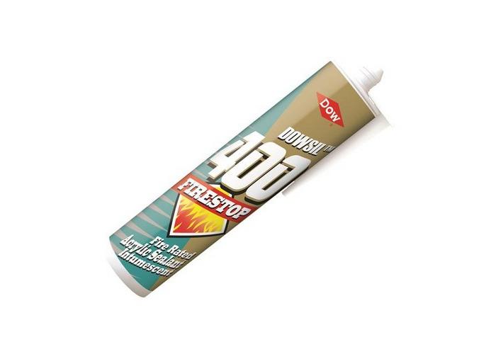 Dowsil 2938863/C06 Firestop 400 Acrylic Sealant White 380ml - 1