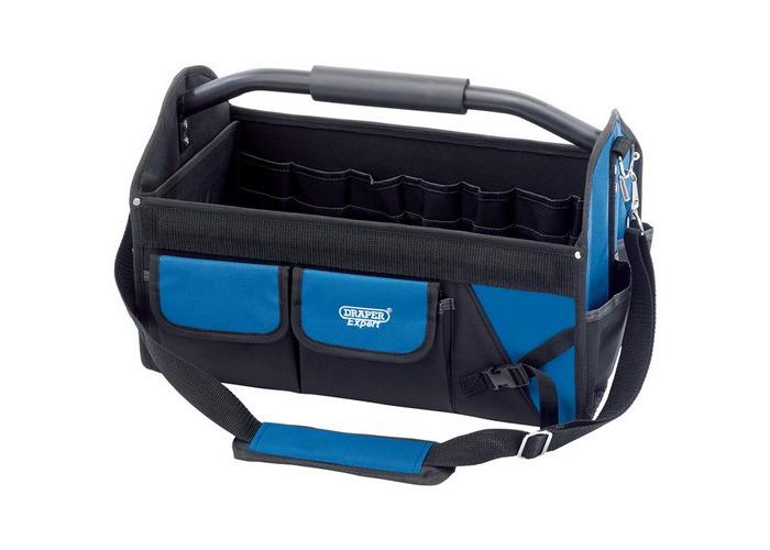 Draper 31593 Expert Folding Tool Bag (355mm) - 1