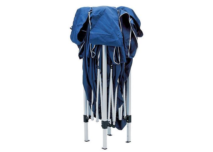Draper 76940 3M x 3M Blue Concertina Gazebo - 1