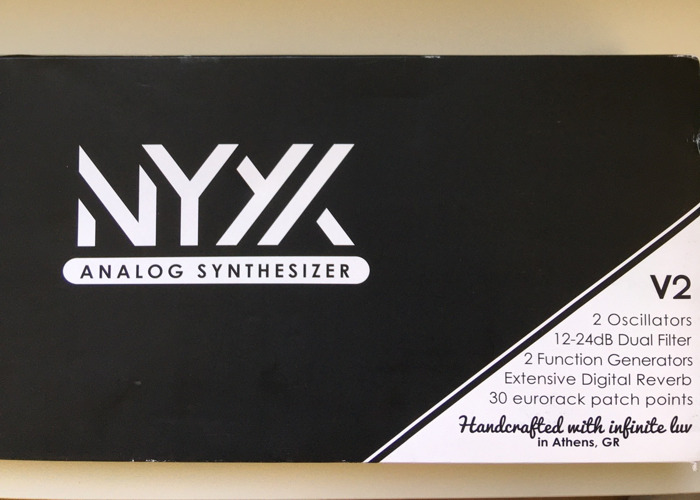 Dreadbox Nyx2 drone synth - 2