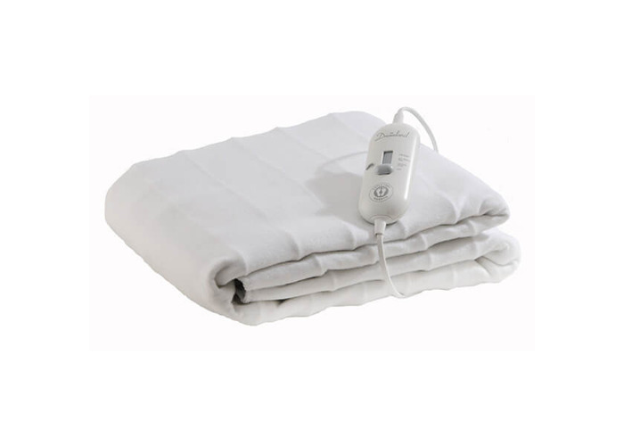 Dreamland 16157 Cosy Toes Extra Large King Size Under Blanket - White - 2