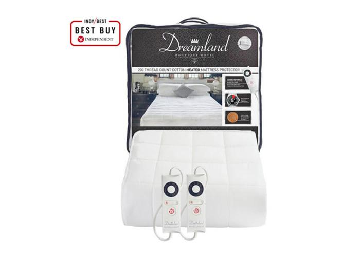Dreamland Boutique Dual Control Electric Blanket - Double - 1