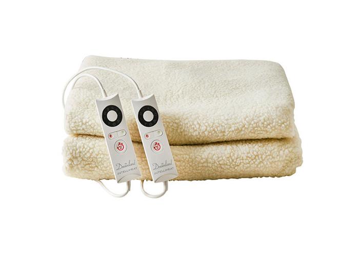 Dreamland Intelliheat Fast Heat Premium Soft Fleece Mattress Protector, King Size, 200 x 150 cm - 2