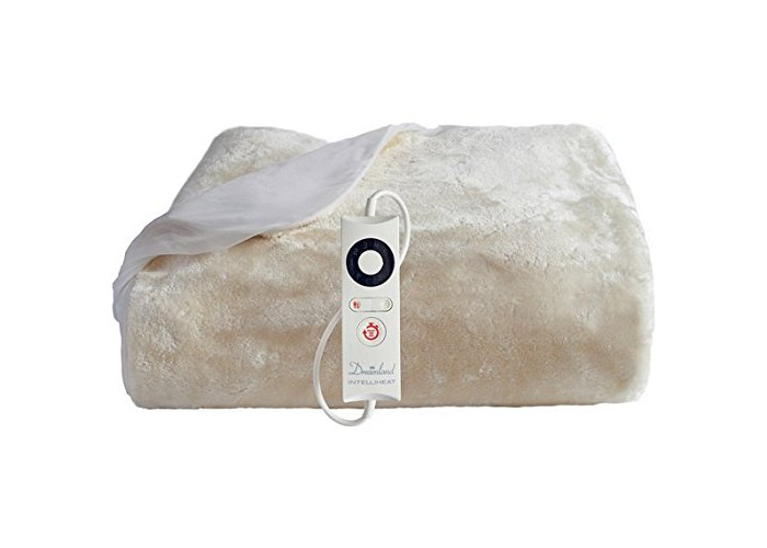 Dreamland Intelliheat Faux Fur Mattress Protector - Single - 1