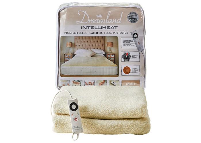 Dreamland Intelliheat Premium Fleece Heated Mattress Protector Double - 1