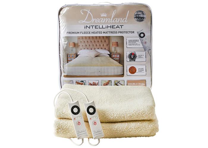 Dreamland Intelliheat Premium Fleece Heated Mattress Protector Double Dual Control - 1