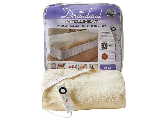 Dreamland Intelliheat Soft Fleece Easy Fitted Underblanket Single - 1