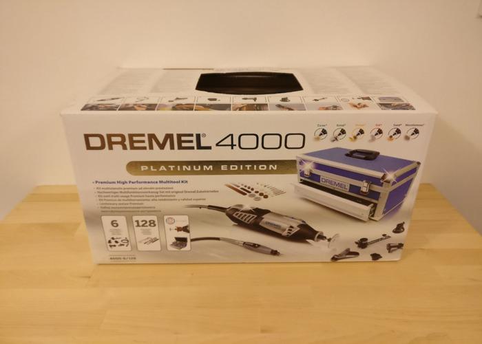 Dremel 4000 Platinum + Accessories - 2