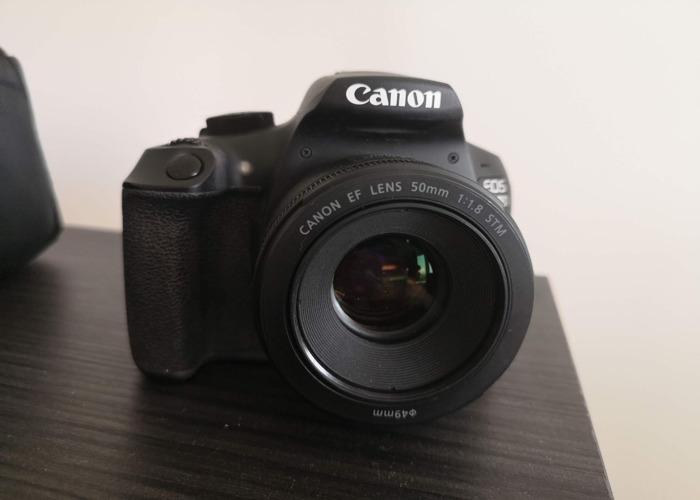 DSLR Camera Canon EOS 1300D incl 50mm lense - 1