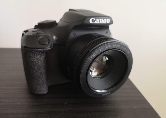 DSLR Camera Canon EOS 1300D incl 50mm lense - 2