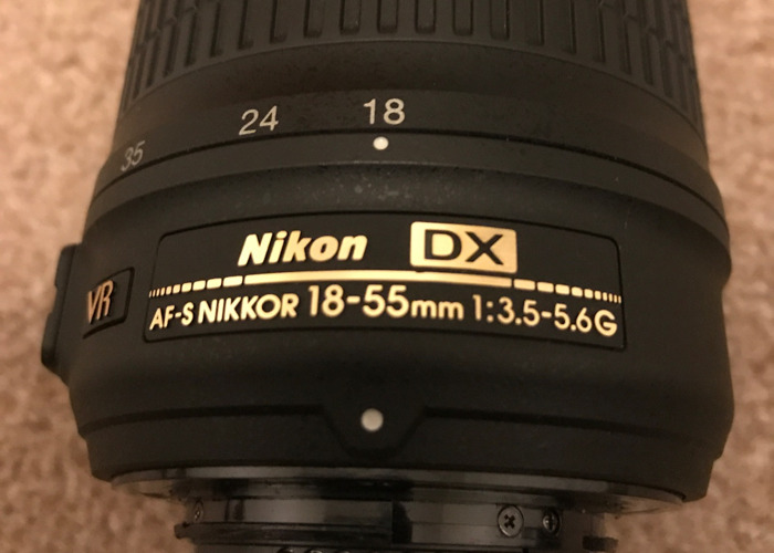 DSLR Camera lens - 18-55mm NICKON DX - 2