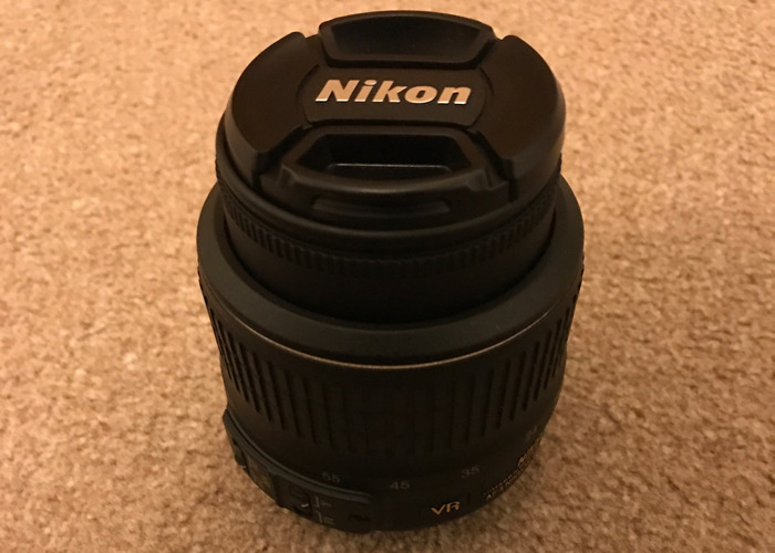 DSLR Camera lens - 18-55mm NICKON DX - 1