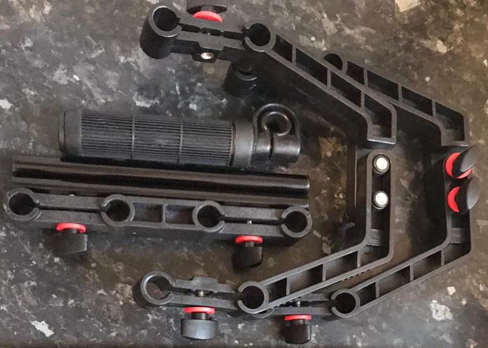 DSLR Camera Shoulder Support Rig Kit with Cage & Matte Box - 1