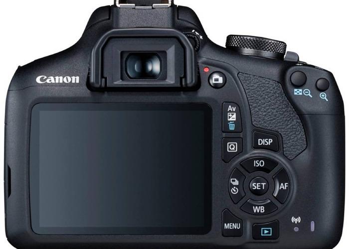 DSLR Cannon EOS 2000D - 2