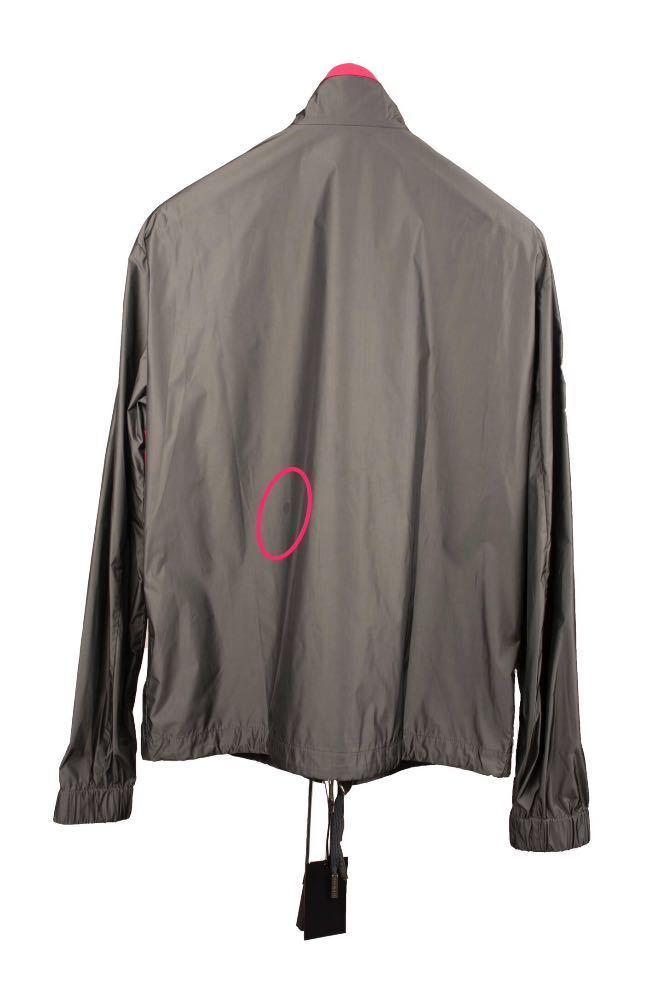Dsquared2 Grey Windbreaker jacket w/Pink Piping - 1