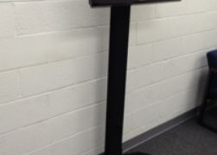 Dual Pole Floor Stand 55″-80″ - 1