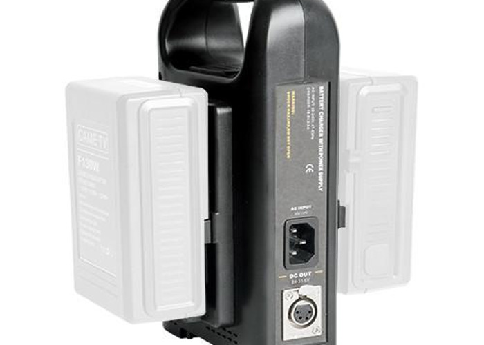 Dual V-Mount Battery Charger - 1