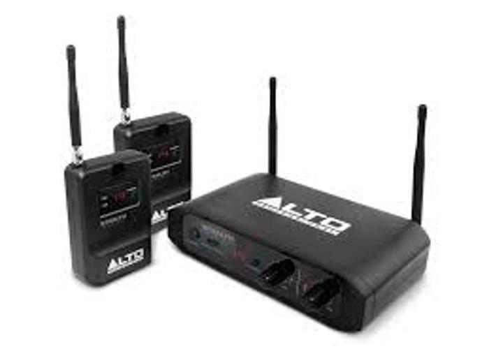 Dual Wireless speaker transmitter / receiver - 2