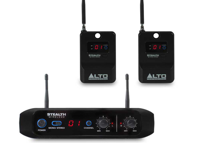 Dual Wireless speaker transmitter / receiver - 1