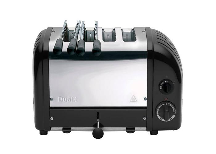 Dualit 42166 black combi 2+2 toaster - 1