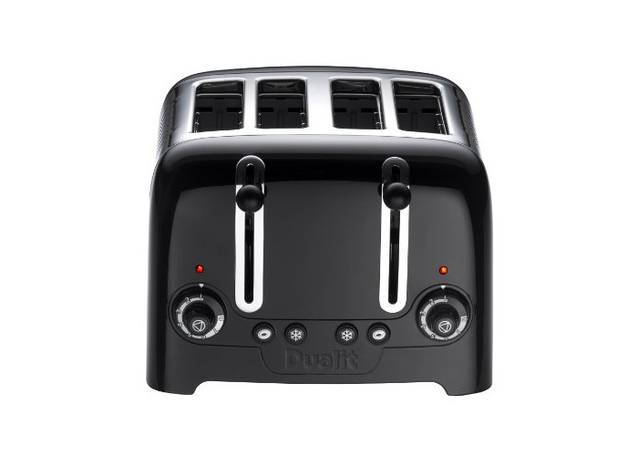 Dualit 46205 4 Slot Lite Toaster in Black Finish - 1
