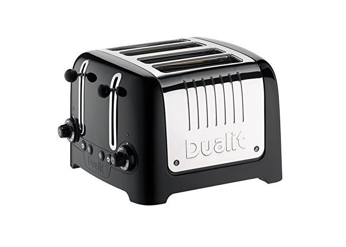 Dualit 46205 4 Slot Lite Toaster in Black Finish - 2