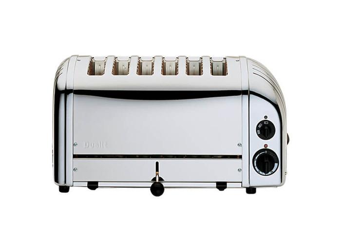 Dualit 6 Slice Toaster 60144 - Polished - 2