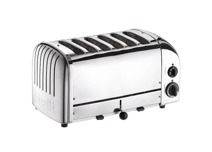 Dualit 6 Slice Toaster 60144 - Polished - 1