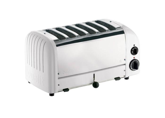 Dualit 6 Slice Toaster 60146 - White - 1