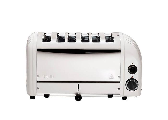 Dualit 6 Slice Toaster 60146 - White - 2