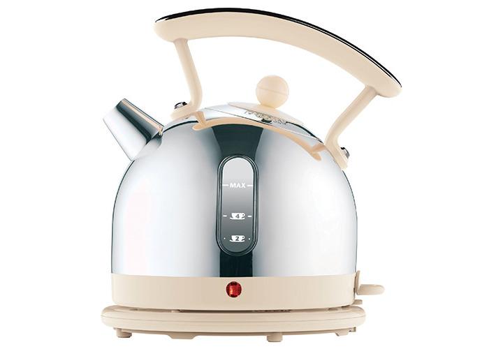 Dualit 72702 Dome Kettle - Chrome/Cream - 1