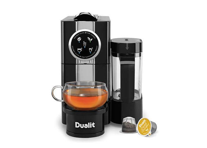 Dualit 85180 Cafe Cino Coffee Machine - Black Finish - 2