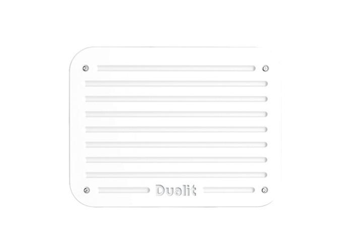 Dualit Architect 2 Slot Grey Body With White Panel Toaster - 2