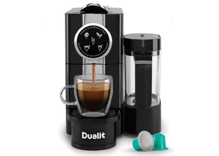 Buy Dualit Café Cino Capsule Coffee Machine 85180 Fat Llama