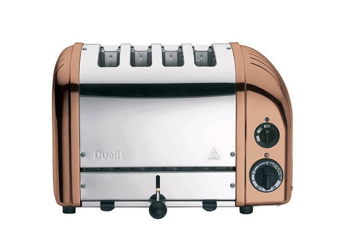 Dualit Classic Vario AWS Copper 4 Slot Toaster - 2