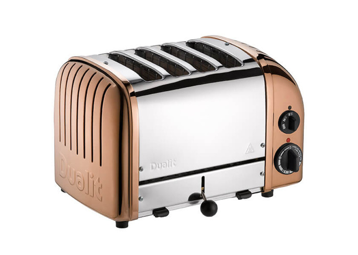 Dualit Classic Vario AWS Copper 4 Slot Toaster - 1