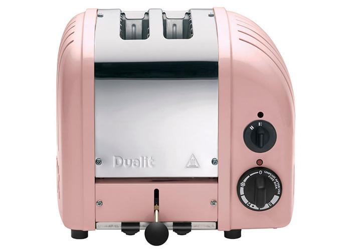 Dualit Classic Vario AWS Petal Pink 2 Slot Toaster - 2