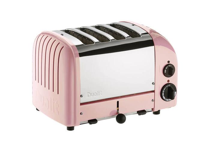 Dualit Classic Vario AWS Petal Pink 4 Slot Toaster - 1