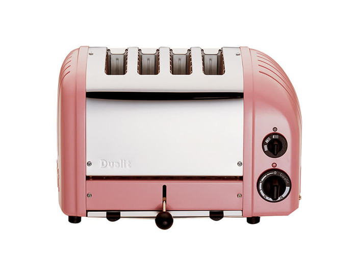 Dualit Classic Vario AWS Petal Pink 4 Slot Toaster - 2