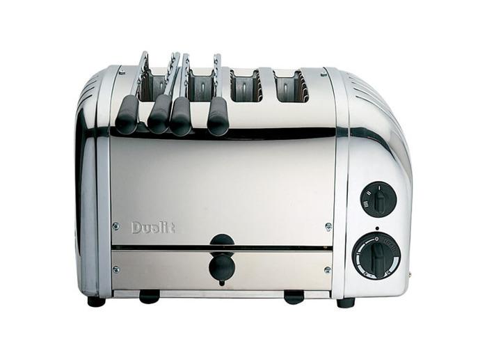 Dualit Combi 2+2 Toaster 42174 - Polished - 1