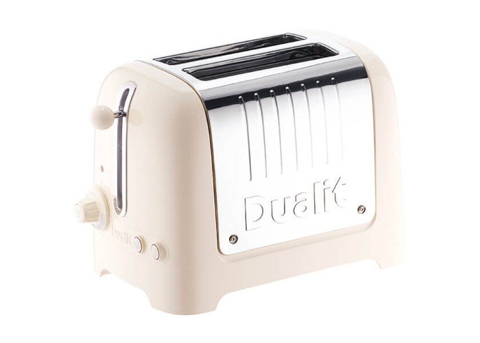 Canvas white Dualit 2 Slice Classic Toaster