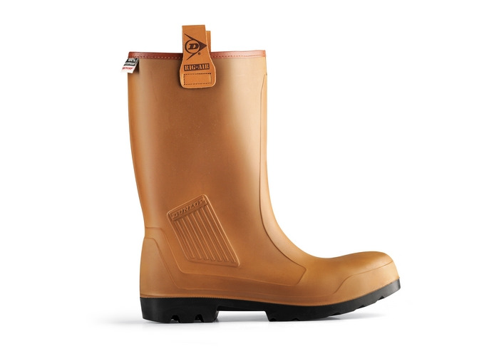Dunlop C462743.FL09 Purofort Rigair Fur Lined Full Safety Rigger Boot Size 9 - 1