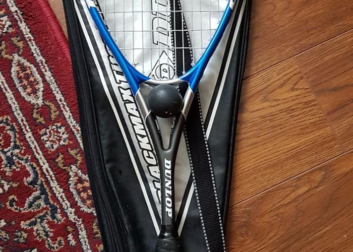 Dunlop Ultramax Squash Racket - 1