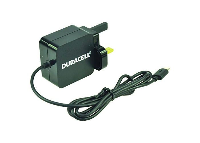Duracell 1 metre 2.4 A MFI Lightning Charger for iPhone 5/5S/SE/6/6 Plus/6S/6S Plus and iPad/iPad Mini - Black - 1