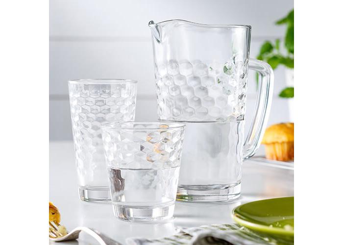 Durobor iStyle Luxe Honeycomb Set Of 6 Tumbler Glasses - 2