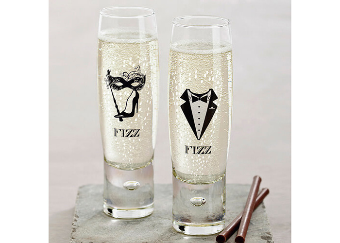 Durobor Raising Spirits Set Of 6 Ladies' Fizz Glasses - 2