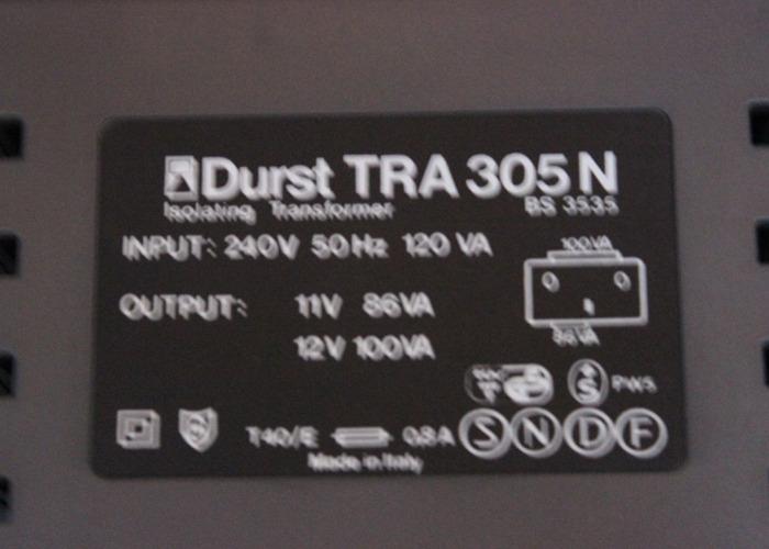 Durst Protechnik M305 Colour Enlarge Lens, Filter etc   - 2