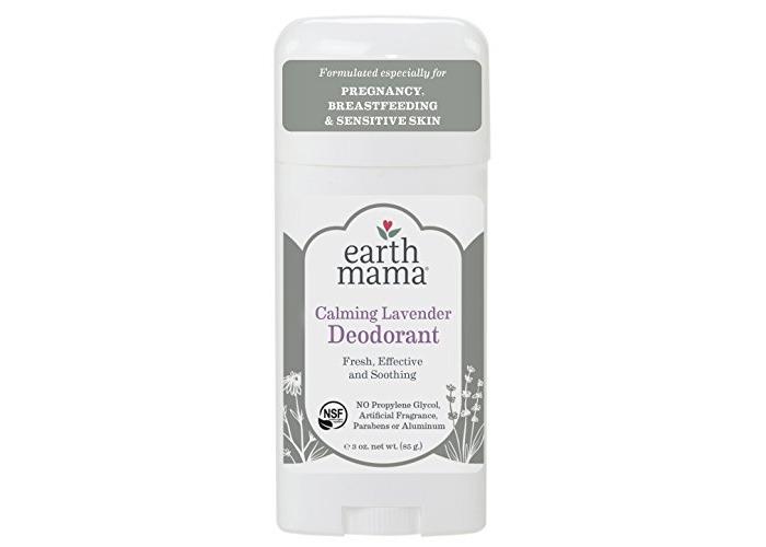 Earth Mama - Deodorant Stick for Pregnancy, Breastfeeding & Sensitive Skin Calming Lavender - 3 oz. - 1