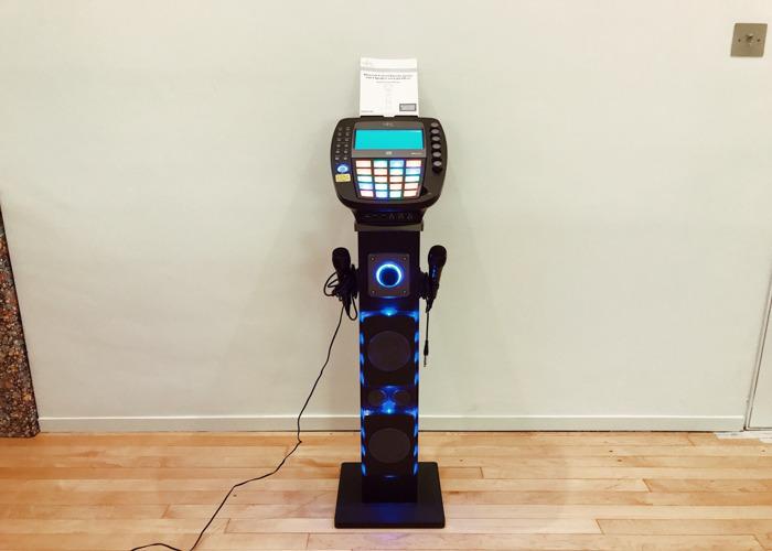 Easy Karaoke EKS878-BT Bluetooth Karaoke Machine - 1